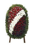 Венок из живых цветов № 002