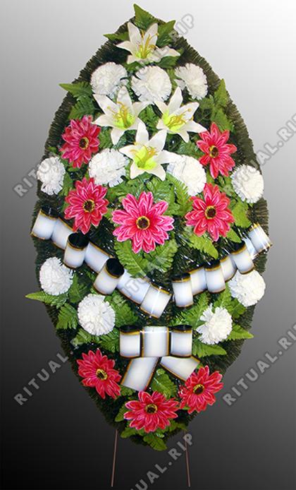 Похоронный венок №18