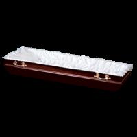 """Ритуальная постель """"Атлас"""" в гроб со стежкой"""
