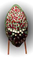 Венок из живых цветов №74