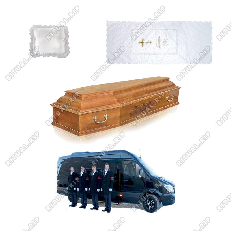 Комплекс ритуальных услуг и товаров №3 для кремации с грузчиками