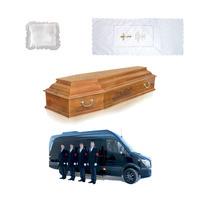 """Набор """"Престиж"""" ритуальных принадлежностей для кремации с бригадой сопровождения"""
