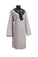 Комплект ритуальной женской одежды «Кокилье» бежевого цвета