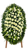 Венок из живых цветов №22Н
