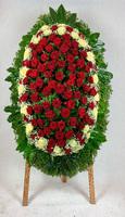 Венок из живых цветов №1Н