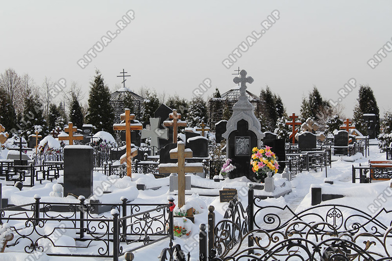 Участок 2.0*1.8 и копка могилы на Алабушевском кладбище