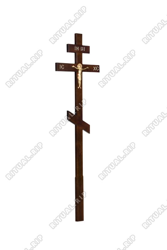 Крест на могилу КДС-01Т с распятием