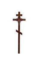 Крест на могилу КДС-03 Угловой узор