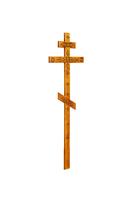 Крест на могилу КДС-05 С декором