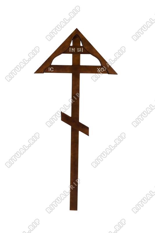 Крест на могилу КДС-08 Домик