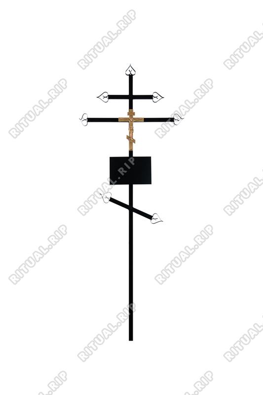 Крест на могилу Православный