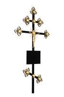 Крест на могилу Золото