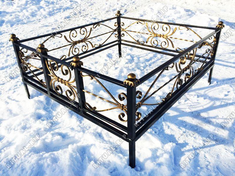 Кованая ограда на могилу Кассандра