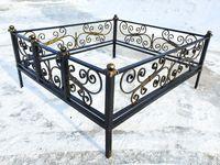 Кованая ограда на могилу Лагуна