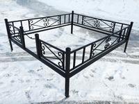 Кованая ограда на могилу Новая