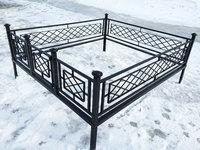 Кованая ограда на могилу Решетка