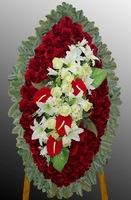 Траурный комбинированный венок на похороны №10