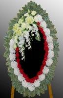 Траурный комбинированный венок на похороны №12