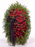 Венок из живых цветов №Н12
