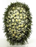 Венок из живых цветов №Н8