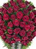 Венок из живых цветов №99